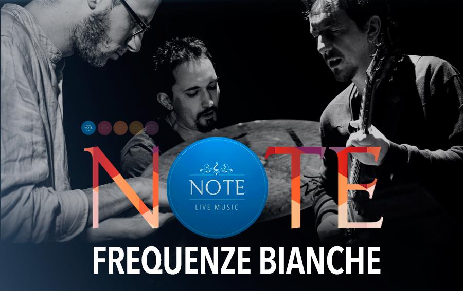 Le Frequenze Bianche di Parmegiani, Gambatesa e Ferro live al Note