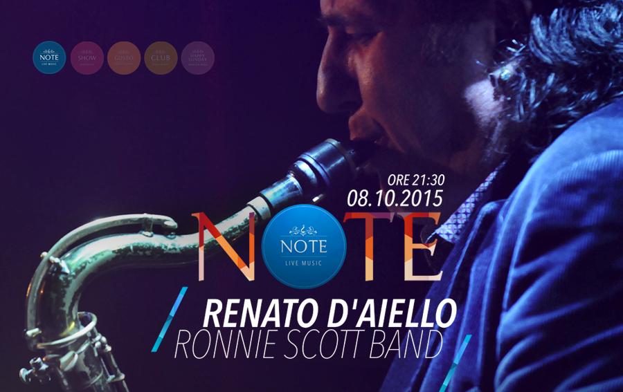NOTE - Renato D'Aiello & Ronnie Scott Band in Acoustic Trio