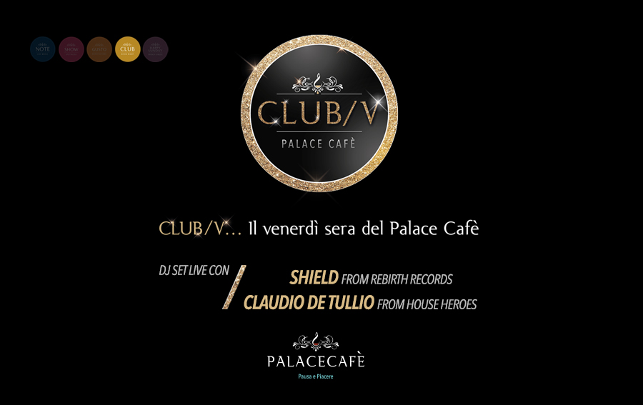 Clubbing - de tullio - shield