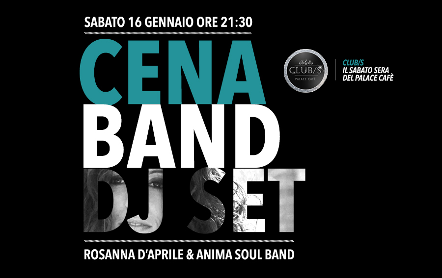 CLUB/S cena band dj set