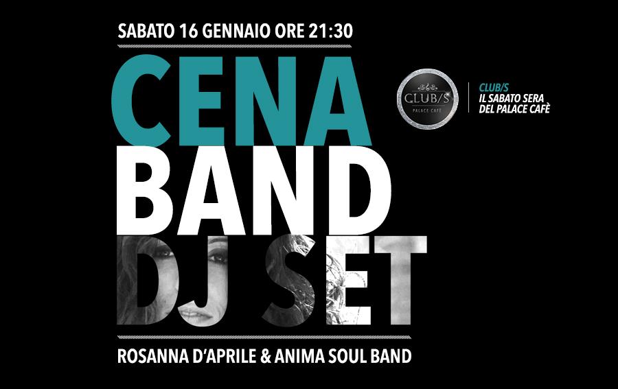 CLUB/S cena band dj set