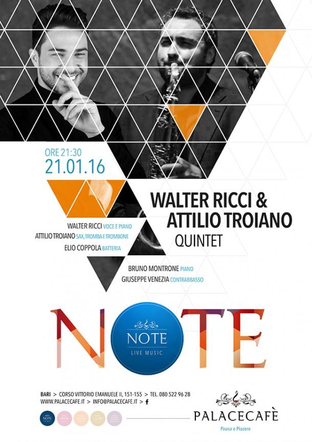 NOTE - Walter Ricci & Attilio Troiano