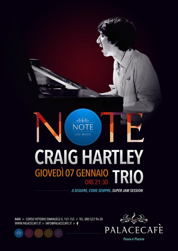 NOTE - Craig Hartley Trio Jazz