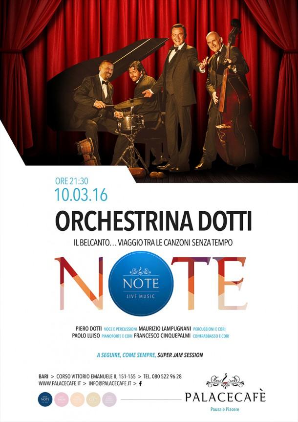 NOTE - Orchestrina Dotti