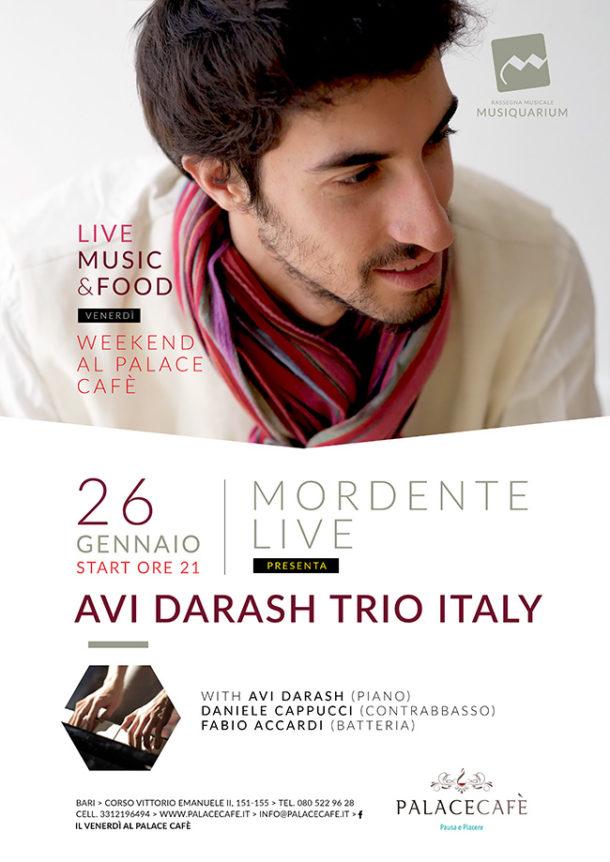 Avi Darash Trio Italy