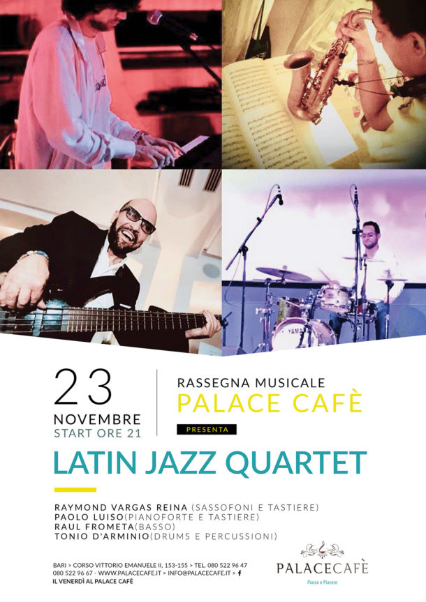 latin jazz 4tet 20181123