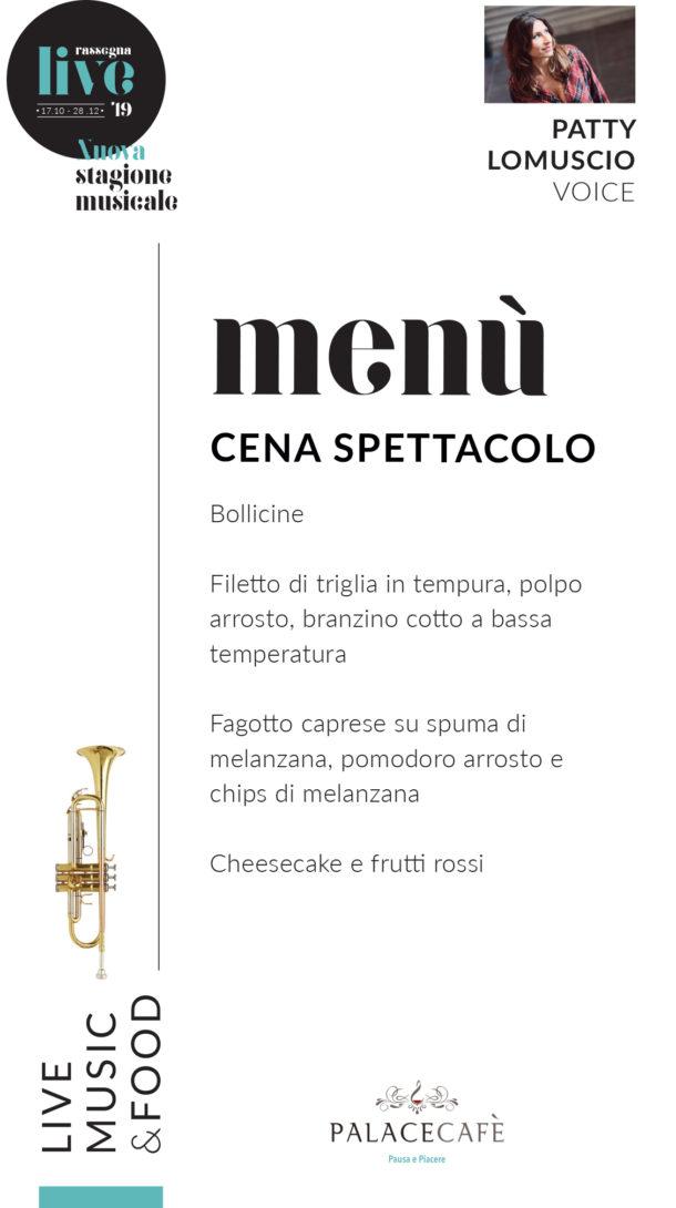 menu live 9novembre2019